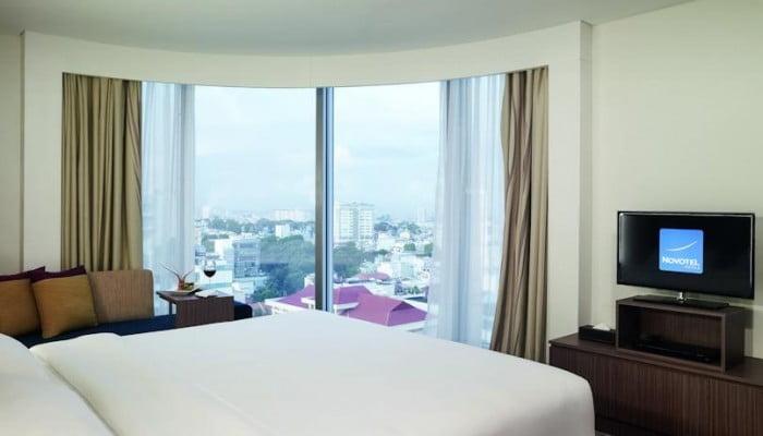Khách sạn 4 sao novotel sài gòn centre